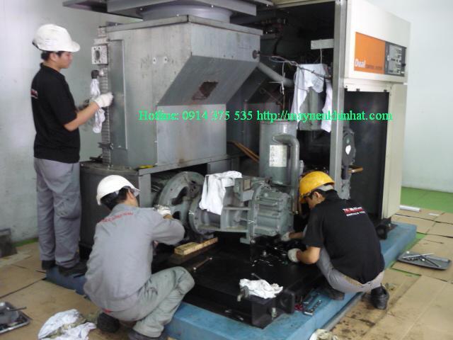 Bảo dưỡng máy nén khí Hitachi