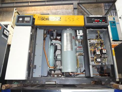 May nen khi cu truc vit co dau Hitachi 22kw