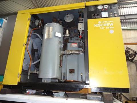 May nen khi cu truc vit co dau Hitachi 55kw